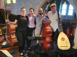 The continuo group of Orfeo 55