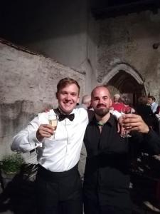 With Leon Kosavić